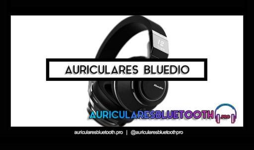 cascos inalámbricos bluetooth BLUEDIO