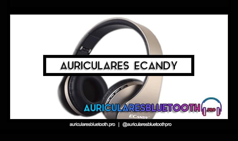 cascos inalámbricos bluetooth ECANDY