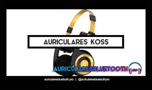 cascos inalámbricos bluetooth KOSS