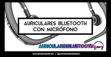 cascos inalámbricos bluetooth con microfono