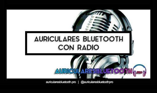 cascos inalámbricos bluetooth con radio