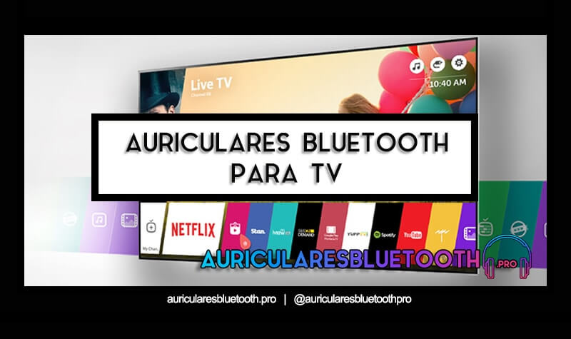 cascos inalámbricos bluetooth para tv
