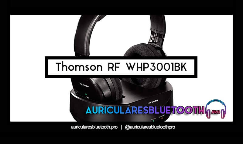 compra auriculares thomson rf whp3001bk