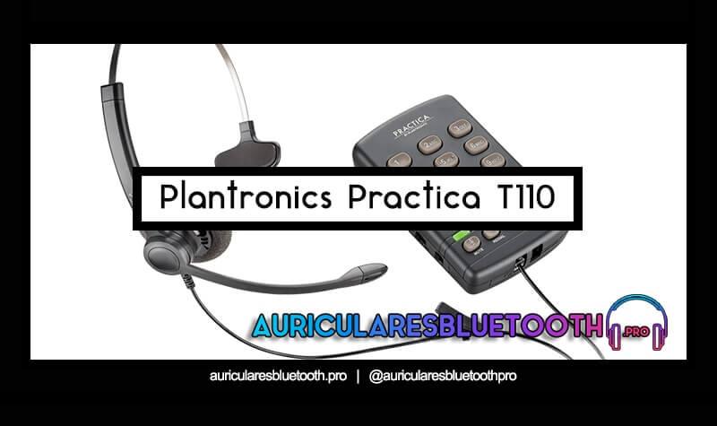 Plantronics practica t110