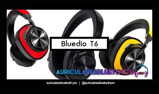 opinión y análisis auriculares bluedio t6