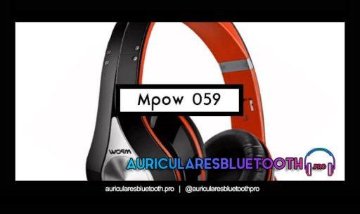 opinión y análisis auriculares mpow 095