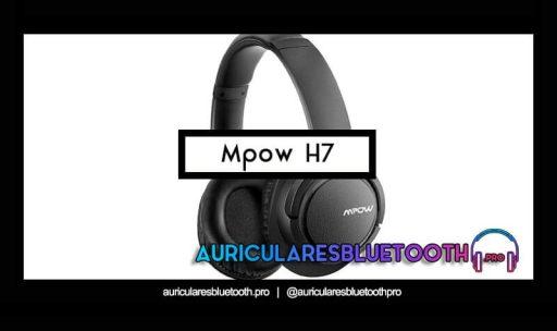 opinión y análisis auriculares mpow h7