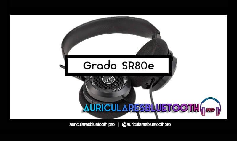 comprar auriculares Grado SR80e
