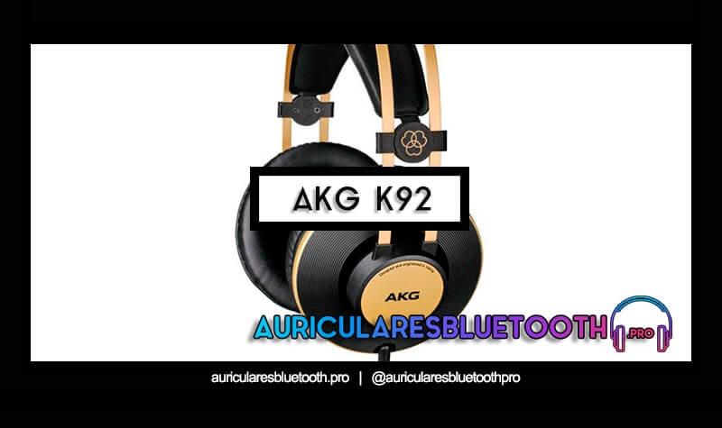 comprar auriculares akg k92