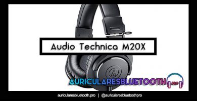 comprar auriculares audio technica ath m20x