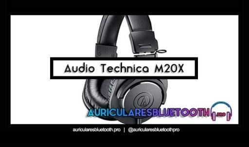 opinión y análisis auriculares audio technica ath m20x