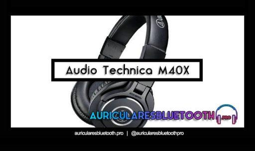 opinión y análisis auriculares audio technica ath m40x