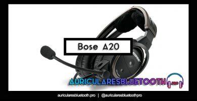 comprar auriculares bose a20