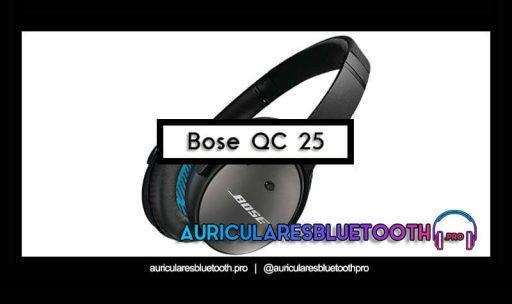 opinión y análisis auriculares bose quietcomfort 25