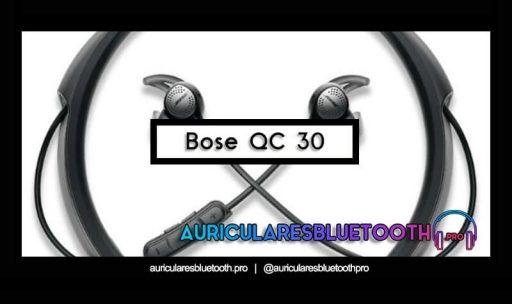 opinión y análisis auriculares bose quietcomfort 30