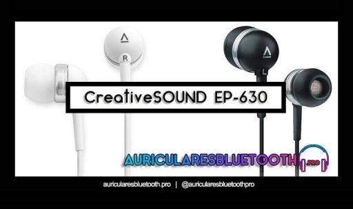opinión y análisis auriculares creative EP 630