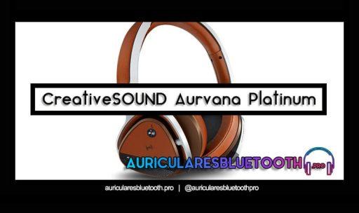 opinión y análisis auriculares creative aurvana platinum