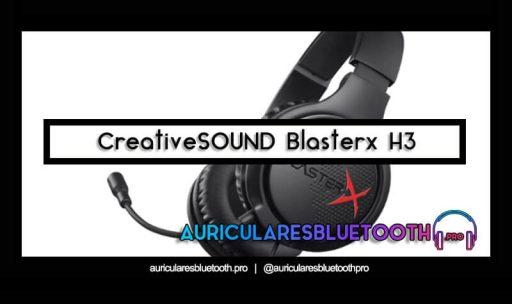 opinión y análisis auriculares creative blasterx h3