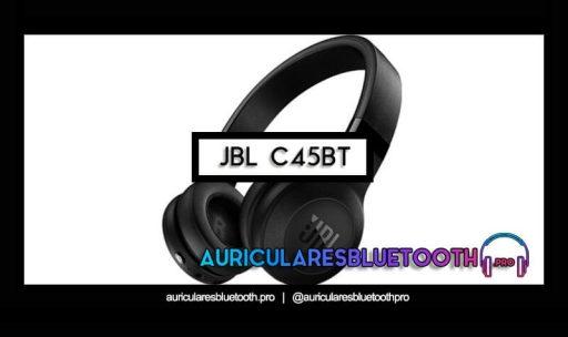 opinión y análisis auriculares jbl c45bt