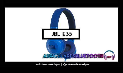 opinión y análisis auriculares jbl e35