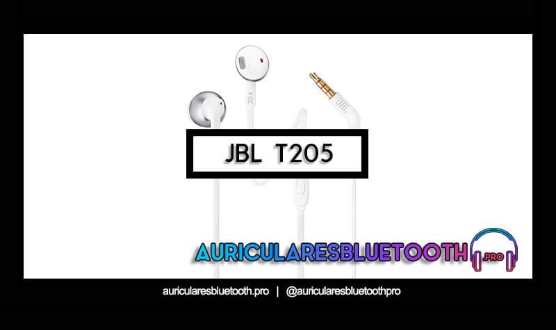 comprar auriculares jbl t205