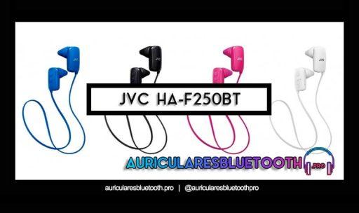 opinión y análisis auriculares jvc ha f250bt