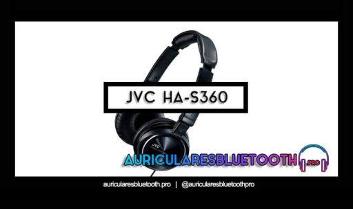 opinión y análisis auriculares jvc ha s360