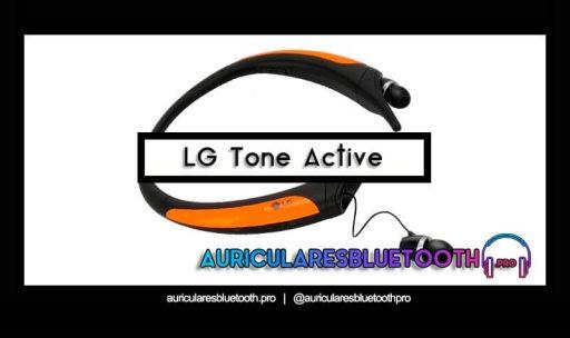 comprar auriculares lg tone active