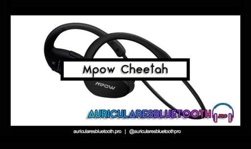 opinión y análisis auriculares mpow cheetah