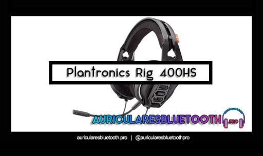 comprar auriculares plantronics rig 400hs
