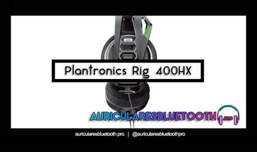 opinión y análisis auriculares plantronics rig 400hx
