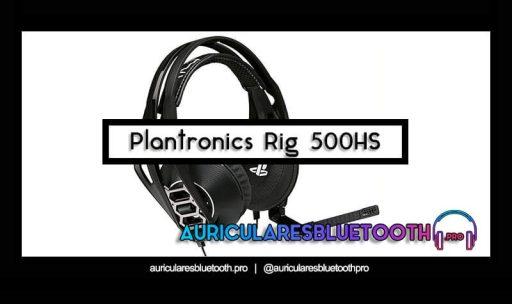 opinión y análisis auriculares plantronics rig 500hs