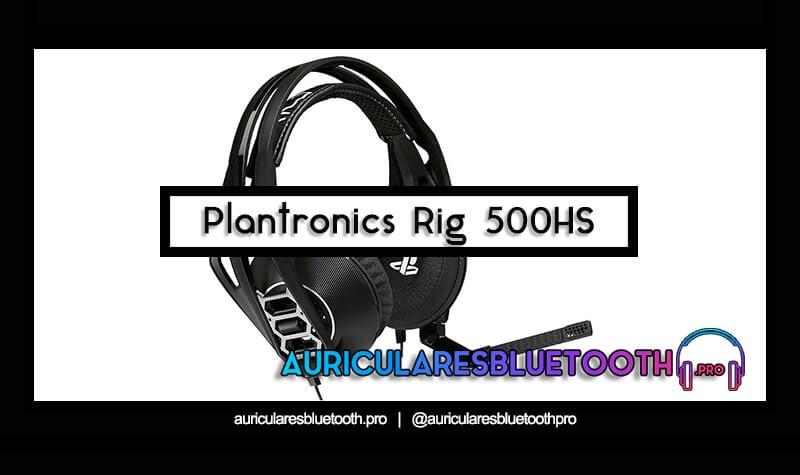 comprar auriculares plantronics rig 500hs