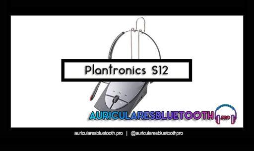 opinión y análisis auriculares plantronics s12