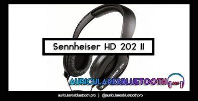 comprar auriculares sennheiser hd 202 ii
