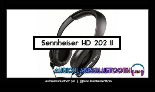 opinión y análisis auriculares sennheiser hd 202 ii
