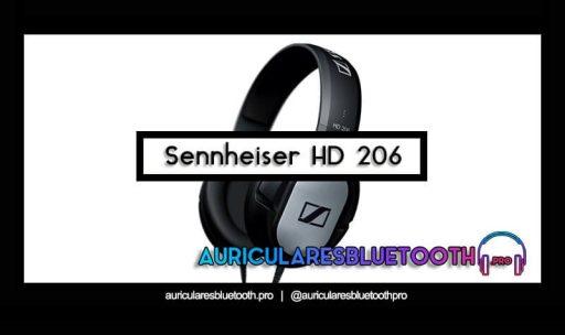 opinión y análisis auriculares sennheiser hd 206