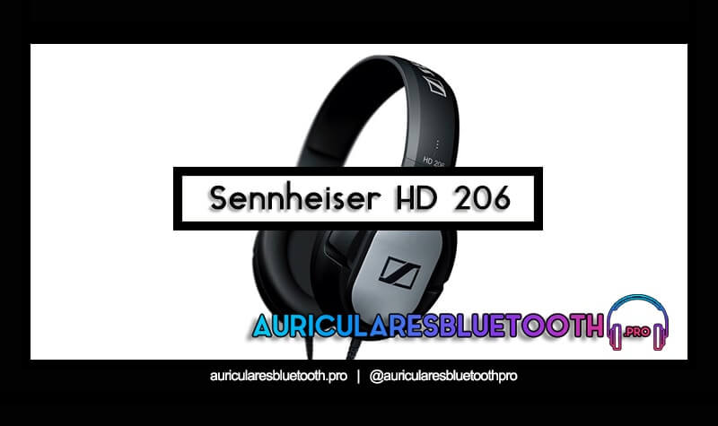 comprar auriculares sennheiser hd 206