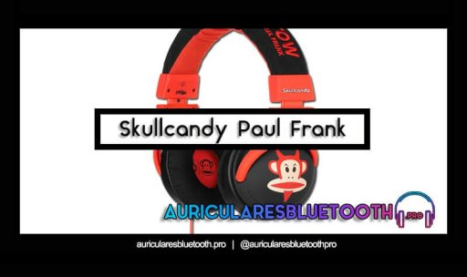comprar auriculares skullcandy paul frank