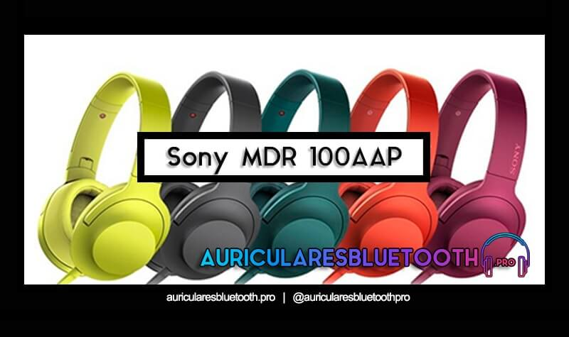 comprar auriculares sony mdr 100aap