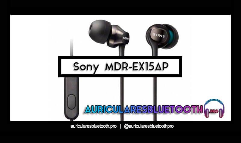 comprar auriculares sony mdr ex15ap