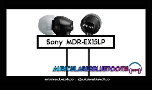 comprar auriculares sony mdr ex15lp