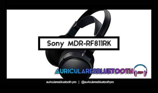 opinión y análisis auriculares sony mdr rf811rk