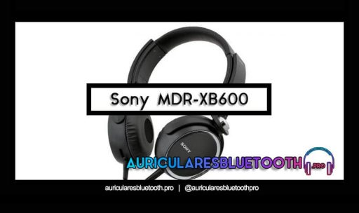 comprar auriculares sony mdr xb600