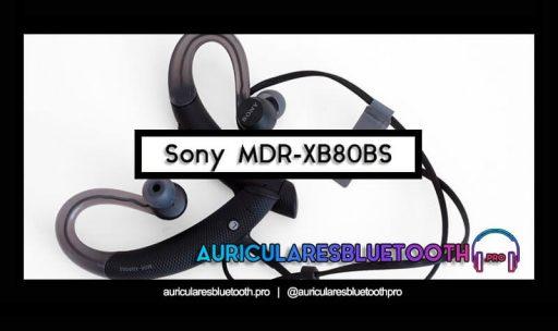 opinión y análisis auriculares sony mdr xb80bs