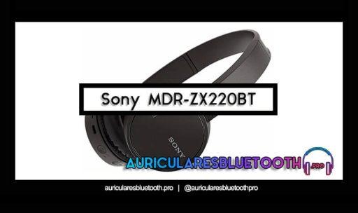 opinión y análisis auriculares sony mdr zx220bt