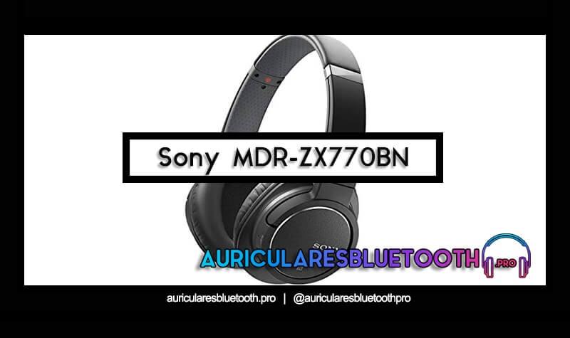 comprar auriculares sony mdr zx770bn