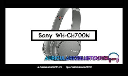 opinión y análisis auriculares sony wh ch700n