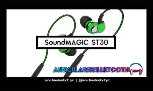 opinión y análisis auriculares soundmagic st30