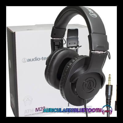 audio technica ath-m20x review y analisis de los auriculares